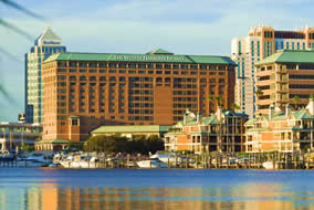 Westin Tampa Harbour Island.
